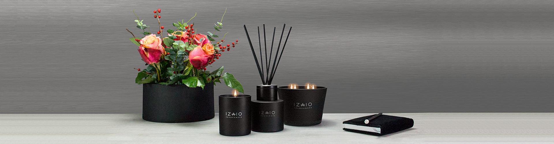 Големи ароматни свещи за подарък