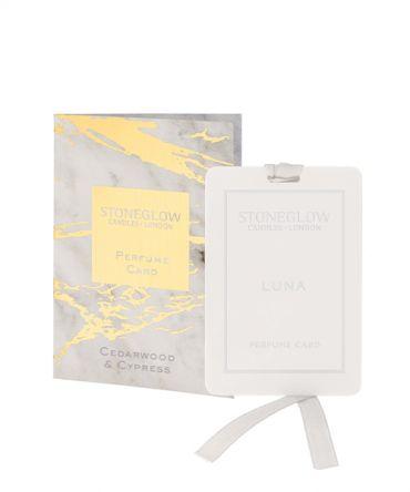 Парфюмна карта - ароматизатор за гардероб Cedarwood & Cypress