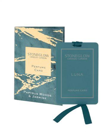 Парфюмна карта - ароматизатор за гардероб и дрехи Papirus Woods & Jasmine
