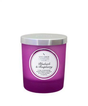 Ароматна свещ с естествени аромати Rhubarb & Rasberry