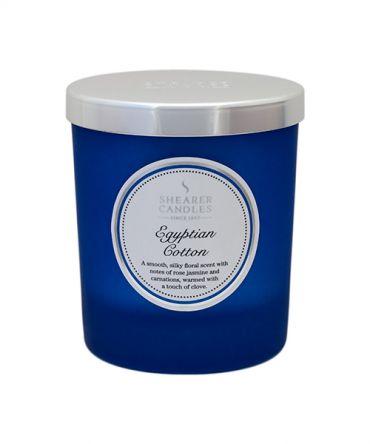 Ароматна свещ Egyptian Cotton Coloured Jar