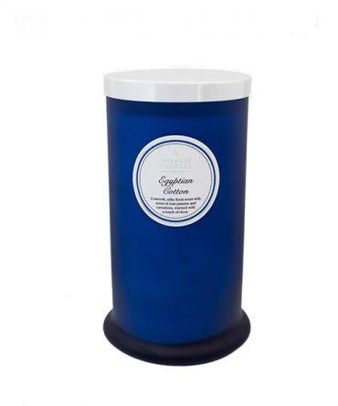 Ароматна свещ Egyptian Cotton Coloured Pillar Jar