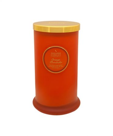 Ароматна свещ Orange Pomander Coloured Pillar Jar