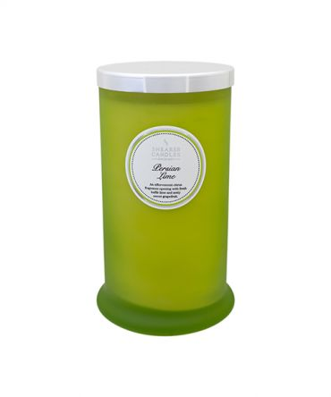 Ароматна свещ Persian Lime Coloured Pillar Jar