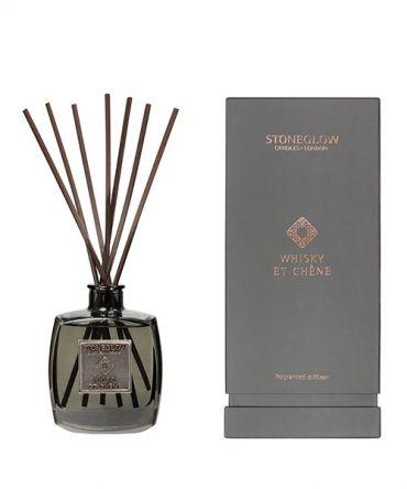 Луксозен дифузер с дървени пръчици, подходящ подарък за мъж, с пикантен аромат