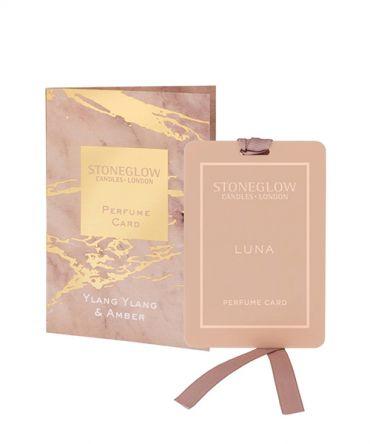 Парфюмна карта - ароматизатор за гардероб Ylang Ylang & Amber