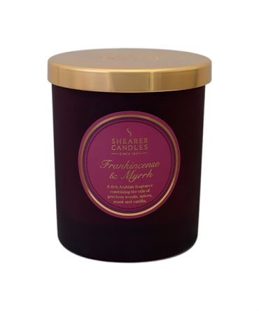Ароматна свещ Frankincense & Myrrh Coloured Jar