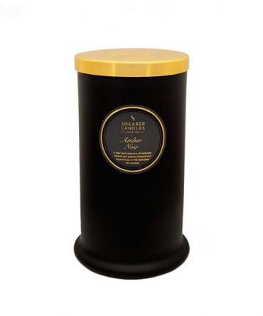 Ароматна свещ Amber Noir, подаръци за мъже