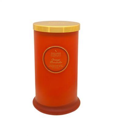 Ароматна свещ Orange Pomander Coloured Pillar Jar