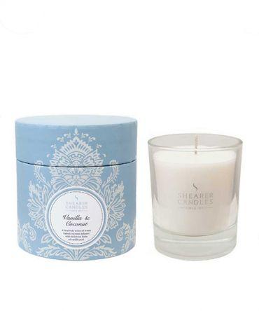 Ароматна свещ в луксозна кутия Vanilla and Coconut
