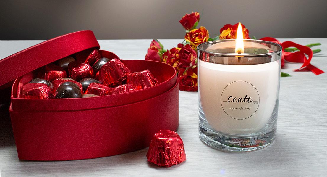 Най-романтичните ароматни свещи за Свети Валентин